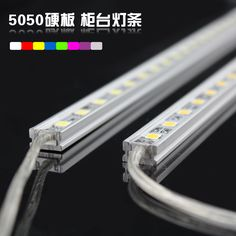IP65 Waterproof 50CM LED Counter Rigid Bar LED Strip Jewelry Counter  Lighting Home Decoration LED Bar