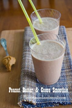Peanut Butter & Cocoa Smoothie