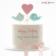 write name on pictures with eNameWishes by stylizing their names and captions by generating text on Write Name on Birthday Wishes with ease. Birthday Wishes With Name, Birthday Wishes And Images, Wishes Images, Butterfly Birthday Cakes, Happy Birthday Cakes, Best Christmas Quotes, Christmas Fun, Images For Facebook Profile, Cake Images