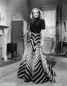 "Travis Banton design; Marlene Dietrich ""Angel"" 1937......Uploaded By www.1stand2ndtimearound.etsy.com"