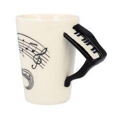 Wybierz kubek Pianino na Dzień Babci. Dostępne różne wzory.