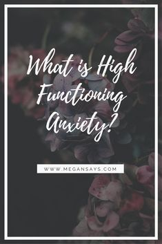 I've shared my experience of High Functioning Anxiety and Mental Health over on my blog!