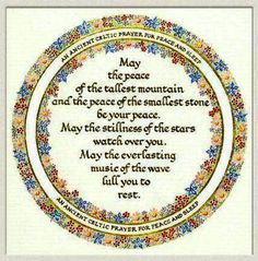 January 2014 Ancient Celtic Prayer for Peace and Sleep Going to use this tonight. Celtic Prayer, Irish Prayer, Irish Blessing, Celtic Christianity, Irish Proverbs, Prayer For Peace, Irish Quotes, Irish Sayings, Scottish Quotes