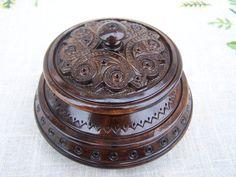 Jewelry Boxes Jewelry vak sierkist Ring vak hout vak Ring boxes Jewelry boxes bruiloft cadeau houtsnijwerk sieraden doos boite bijoux middeleeuwse vak B27