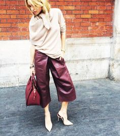 You Can Wear Culottes in Winter