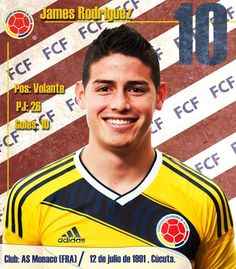 James Rodriguez #Colombia #FIFAMundial2014