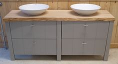 Badkamermeubel 'Albero' | Unieke en eigentijdse houten meubels
