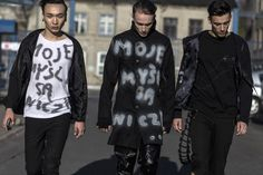 Metallics and Graffiti Rule on the Streets of Fashion Week Poland, Day 1 | wmag.com