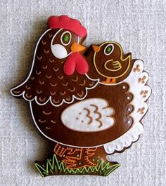perníčky - Hledat Googlem Fancy Cookies, Yummy Cookies, Cake Cookies, Sugar Cookies, Halloween Christmas, Christmas Ornaments, Gingerbread House Designs, Royal Icing Decorations, Easter Cookies