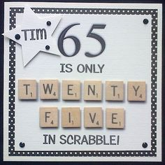 65th Birthday Cards Bday For Men Man Handmade