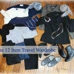 the 12 piece travel wardrobe - une femme d'un certain âge