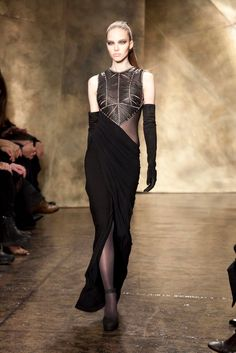 A look from the Donna Karan Fall 2013 RTW collection.