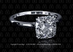 Classic solitaire by Leon Mege, one of my favorite designers. You can't beat his clean lines and gorgeous claw prongs!
