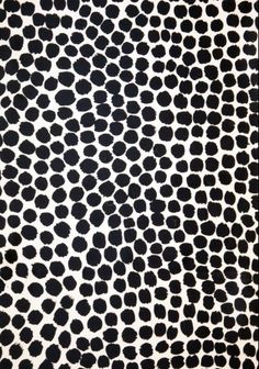black and white pattern // irregular dots for fun furniture piece, mirror frame, upholstery, rugs, etc. Motifs Textiles, Textile Patterns, Textile Design, Pretty Patterns, White Patterns, Color Patterns, Surface Pattern Design, Pattern Art, Cerámica Ideas