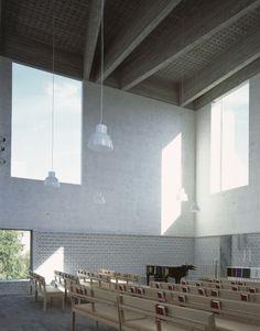 Johan Celsing - Årsta church, Stockholm 2008.