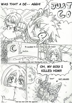 NaLu My Baby Dragon - My Pet Princess  Chap2 pg11 by Inubaki.deviantart.com on @DeviantArt