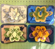 Project Center - Lotus Flower Pop Up Card