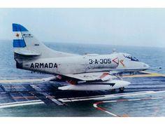 Douglas A-4 Skyhawks - Comando de Aviación Naval Argentina (Argentine Naval Aviation), Argentina