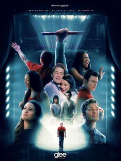 'Glee Season Poster by IconicNephilim Glee Memes, Glee Quotes, All Movies, Movies And Tv Shows, Glee Season 5, Finn Glee, Rachel And Finn, Finn Hudson, Glee Club