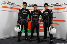 Sahara Force India Formula One Team Academy Drivers.