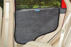 Krunco Waterproof Pet Car Door Protector Cover   Gray, Dog Door Protector  Against Scratch And Drool ...