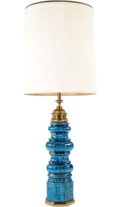 Monumental Mid Century Modern Stiffel Table Lamp