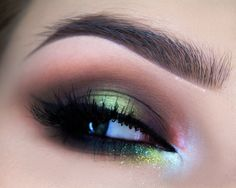 Carnival Makeup Tutorial by Diamante Makeup Up. Makeup Geek Eyeshadows in Latte and Mocha. Makeup Geek Highlighter in Moon Phase. Makeup Geek Sparkler in Supernova.