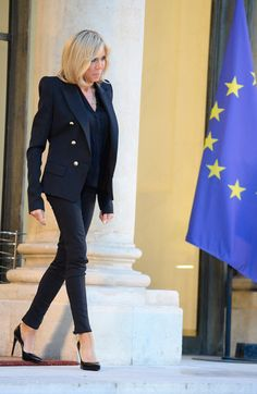 Brigitte Macron's Best First Lady Style Moments