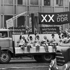 Pageant for the 20th anniversary of the GDR (Leipzig, 1969)