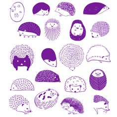 What's cuter than one hedgehog?... 20 of them! Express your love for these spiney yet loveable little mammals with this comfy top featuring an adorable design by Julie Kuo. This design is printed on a