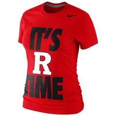 Nike Rutgers Scarlet Knights Ladies 2013 Local R Time T-Shirt