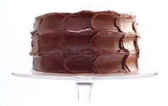 Chocolat-Caramel Cake with Sea Salt