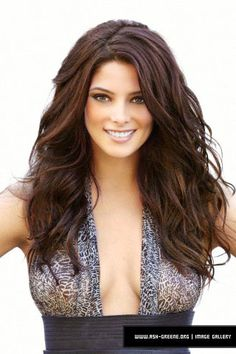 Ashley Greene Esquire. I want hair like this every single day of my life!