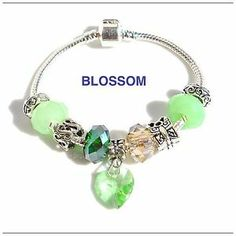 Bracciale donna, Bracelet Woman With crystal Beads Charms European Style