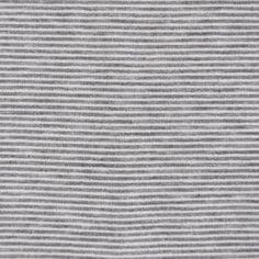French Terry Mini Stripe Grey/White - Fabric - Style Maker Fabrics