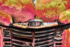 Title:  International Truck   Artist:  Ron Roberts   Medium:  Photograph - Photography