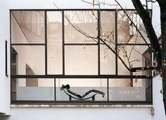 """waltergropius: """" Le Corbusier, Maison La Roche, Paris (1923-25) Chair by Charlotte Perriand. """""""