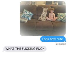 """Wife Rescues A """"Dog"""", But It's Actually A Coyote. Then Her Husband Has a Meltdown. Dog Texts, Funny Texts, 9gag Funny, Stupid Funny, Best Fishing Boats, Dog Pictures, Funny Pictures, Text Pranks, Message For Husband"""