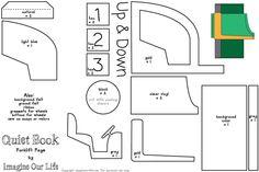 Forklift Quiet Book Page