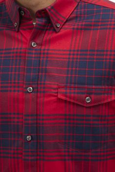 French Connection, Flannel Shirt, Casual Shirts, Gentleman, Plaid, Check, Tops, Fashion, Gingham