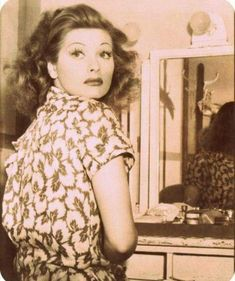 Lucille Ball, beauty & humor!