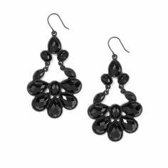 Baroque Teardrops Drop Earrings