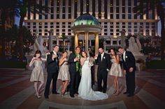 My amazing Sight & Sound photographer Edyta shot this great photo for Ricky and Dana on July 17th at Caesars Palace pool!