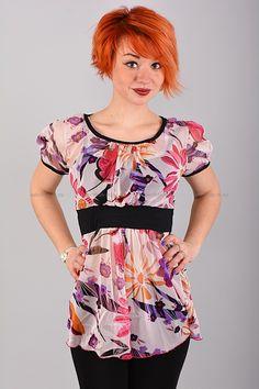 Туника Б8134 Цена: 252 руб Разноцветная туника выполнена из легкой полупрозрачной ткани. Состав: 100 % полиэстер. Размеры: 42, 44, 46, 48  http://odezhda-m.ru/products/tunika-b8134  #одежда #женщинам #платья #одеждамаркет