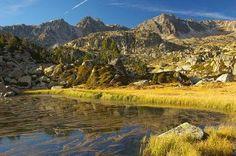 Lake in Andorran mountains
