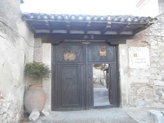 Entrada al Convento de Santa Clara.