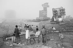 Ship-breaking, Chittagong, Bangladesh (photo Brendan Corr, Image Courtesy: Brendan Corr Photography)