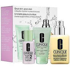 Great Skin, Great Deal Set for Combination Oily Skin - CLINIQUE   Sephora