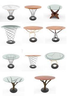 Coffie Table 3D Model - 3D Model