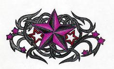 Nautical Star + Tribal Thorn 2 by AvengedDemise13363.deviantart.com on @deviantART